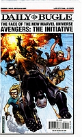Daily Bugle Avengers The Initiative