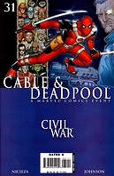 Cable\Deadpool #31 'Casualties of War'