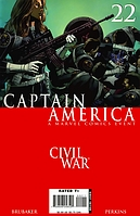 Captain America #22 'The Drums Of War' Part.1