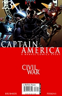 Captain America #23 'The Drums Of War' Part.2